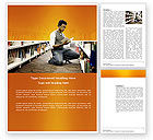 Education & Training: Librarian Word Template #03815