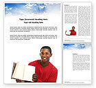 Education & Training: Religious Education Word Template #03818