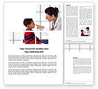Medical: Paediatrist Word Template #03835