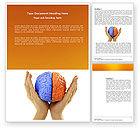 Consulting: Cerebral Hemispheres Word Template #03840