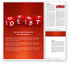 Financial/Accounting: Modello Word - Debito #03841