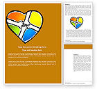 Education & Training: Hands Of Unity Word Template #03846