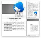 Global: Red De Wereld Word Template #03868