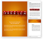 Education & Training: Problem Word Template #03887