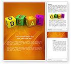 Business: Matter Word Template #03893