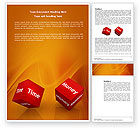 Business Concepts: Risk Management Word Template #03934
