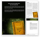 Education & Training: Dictionary Word Template #03941