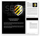 Careers/Industry: Occupational Safety Word Template #03946