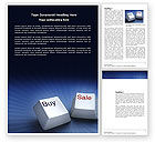 Business Concepts: eCommerce Word Template #03949