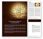 Flags/International: Latin Word Template #03950