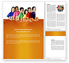 Education & Training: Eurosafe European Child Safety Alliance Word Template #03960