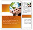 Global: World Tendencies Word Template #03964