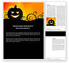 Holiday/Special Occasion: Halloween is Near Word Template #03967