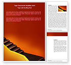 Abstract/Textures: Downshifting Word Template #03976