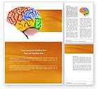 Medical: 脳の自動調節 - Wordテンプレート #03988