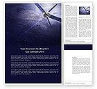 Telecommunication: Communication Satellite Word Template #03994