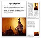 Art & Entertainment: Venice Word Template #04013