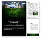 Agriculture and Animals: Egret Word Template #04024