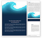Abstract/Textures: Wave Word Template #04052