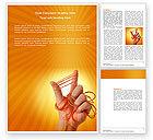 Business Concepts: Modèle Word de élastique #04053
