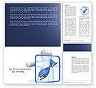 Medical: Modèle Word de diagnostic dna #04067