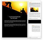 Careers/Industry: Templat Word Pekerja Atap #04101