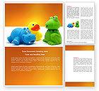 Education & Training: Stuffed Toys Word Template #04109