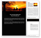 Nature & Environment: Riders Word Template #04110