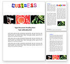 Business: Business Theme Word Template #04125