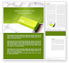 Financial/Accounting: Cash Button Word Template #04137