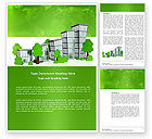 Construction: Green District Word Template #04147