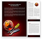 Global: Full Repair Word Template #04150