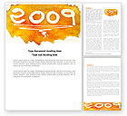 Holiday/Special Occasion: Free NY Cake Word Template #04163