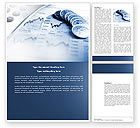 Financial/Accounting: Economy Word Template #04164