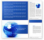 Global: World Reconstruction Word Template #04171