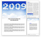 Holiday/Special Occasion: 2009 New Opportunities Word Template #04176