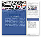 Financial/Accounting: Money Assets Word Template #04179