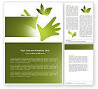Nature & Environment: Helping Nature Word Template #04194