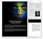 Global: South America Word Template #04210
