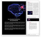 Medical: Brain Receptor Word Template #04218
