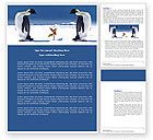 Nature & Environment: Antarctica Word Template #04240