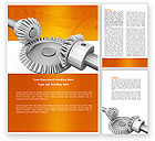 Utilities/Industrial: Mechanics Word Template #04244