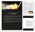 Business Concepts: Firestarter Word Template #04284