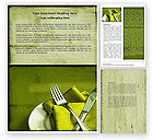 Careers/Industry: Flatware Word Template #04286
