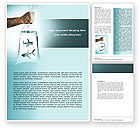 Business Concepts: Free Sharks Word Template #04291