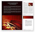 Art & Entertainment: Filmmaking Word Template #04295