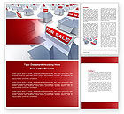 Construction: Real Estate In Massive Sale Word Template #04307