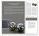 Medical: Chinese Therapy Balls Word Template #04324