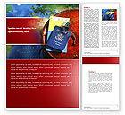 Careers/Industry: Travel Essentials Word Template #04336