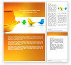 Careers/Industry: Comfortable Interior Word Template #04344